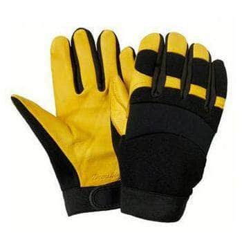 8244 Goatskin Mechanics Glove with Nylon Back