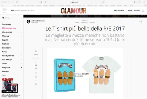 Sep t-shirt su Glamour.it