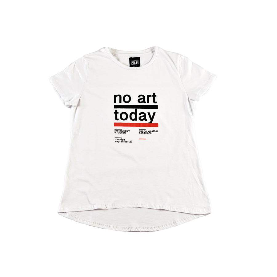 No Art Today Lady - Sep T-Shirt
