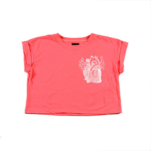 SEP MASK PINK & CROP '90 FLUO - Sep T-Shirt