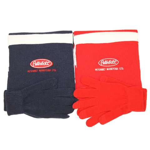 Peterbilt Manitoba Scarf and Glove Set