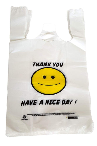 T-Shirt and Grocery Bags - Smile - 43473 - 275 Qty