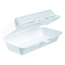Single Comparment Foam Hinged Carry Out Container
