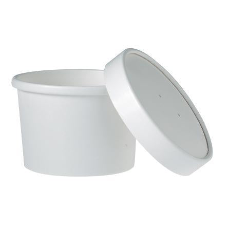 Soup Container and Lid - 8 oz - 250 Qty