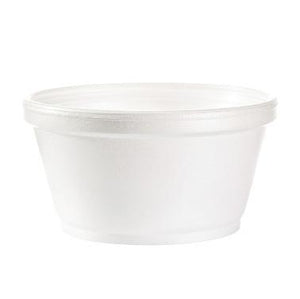 Squat Foam Bowl - 10 oz - 1000 Qty