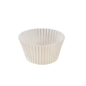 "White Baking Cup - 1-1/2"" x 1-1/8"" - 28800 Qty"