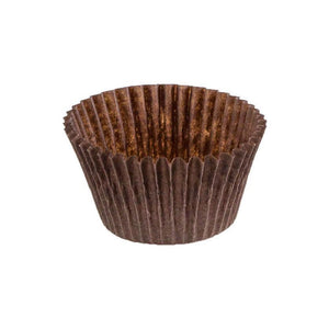 "Brown Baking Cup - 1-1/2"" x 1-3/16"" - 24000 Qty"