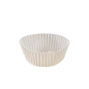 "White Baking Cup - 2"" x 1"" - 30200 Qty"