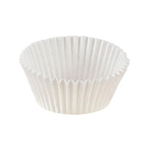 "White Baking Cup - 2"" x 1-1/4"" - 20500 Qty"
