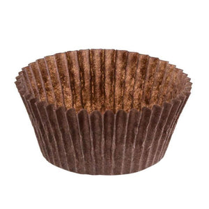 "Brown Baking Cup - 2"" x 1-1/4"" - 17000 Qty"
