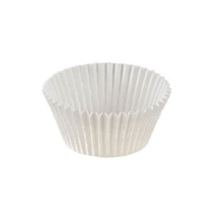 "White Baking Cup - 2"" x 1-3/8"" - 18000 Qty"