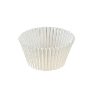 "White Baking Cup - 2"" x 1-1/2"" - 20000 Qty"