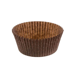 "Brown Baking Cup - 2-3/4"" x 1-1/2"" - 10000 Qty"