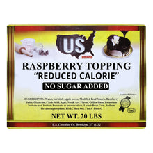 Sugarless Raspberry Topping