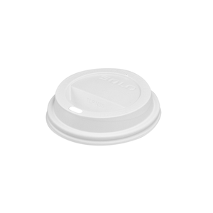 Dome Lid White Cup