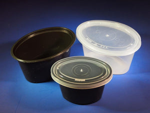 Soup Container and Lid - 32 oz - 250 Qty