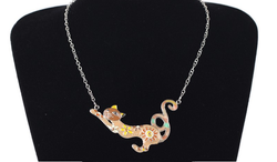 Lovely French Cat Necklace