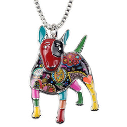 Lovely Bull Terrier Necklace