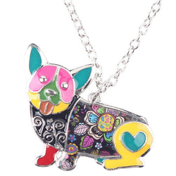 Lovely Corgi Dog Necklace