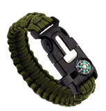 5 in 1 Emergency Survival Bracelet