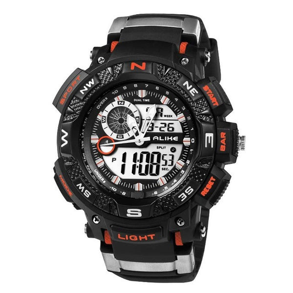 Men's G-Style LED Shockproof Waterproof Sports Watch