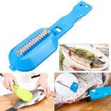 Fish Scales Remover and knife