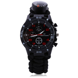 Multifunctional Sports/Survival Watch Bracelet