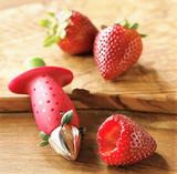 Lovely Strawberry Fruit Stalks Stem Remover