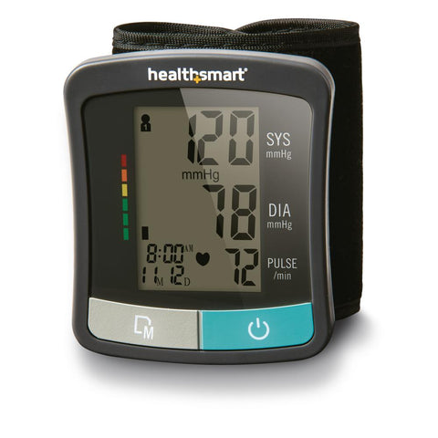 HealthSmart Premium Series Digital Wrist Blood Pressure Monitor