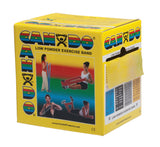 CanDo® Low Powder Exercise Band - 50 Yard Roll