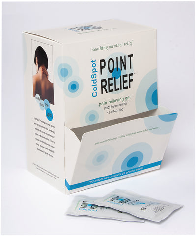 Point Relief® ColdSpot™ Lotion - Gel Packet - 5 gram, Dispenser Box of 100