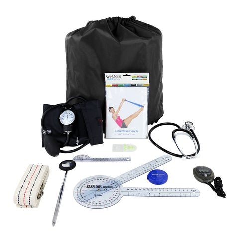 PT Student Kit with standard items. CanDo® PEP Pack®