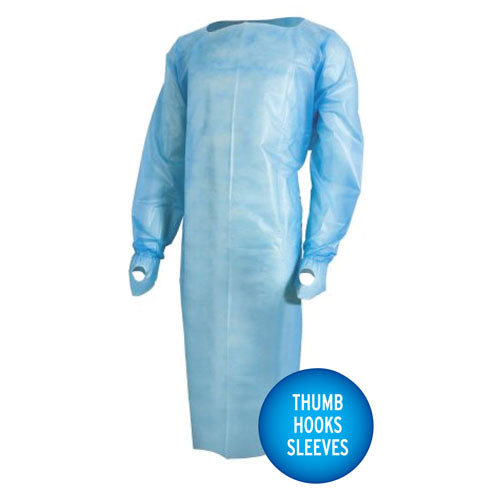 Isolation Gowns - Level 3 Protective - Universal Pk/10