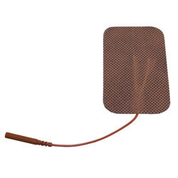"Compass Health Electrodes 2"" x 3.5"" Tan Cloth Pack of 40"