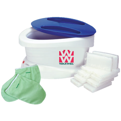Waxwel Paraffin Bath Unit with Paraffin and Accessories