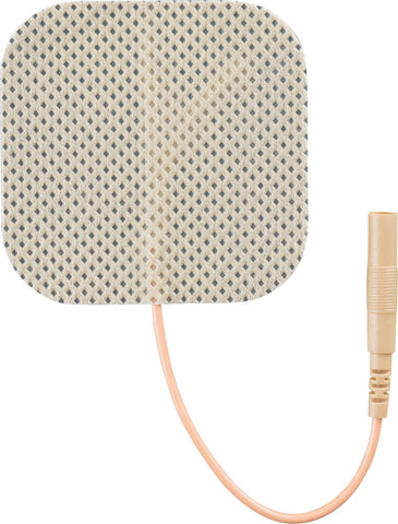 "Compass Health Economy Electrodes, 2"" x 2"" Tan Pack of 40"