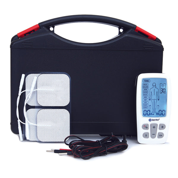 BodyMed Rechargeable TENS/EMS/Massager Combo with Body Part Diagram