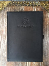 BlackWolf's Leather Stamped Journal - Free Shipping