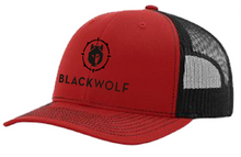 BlackWolf Trucker Snapack Hat