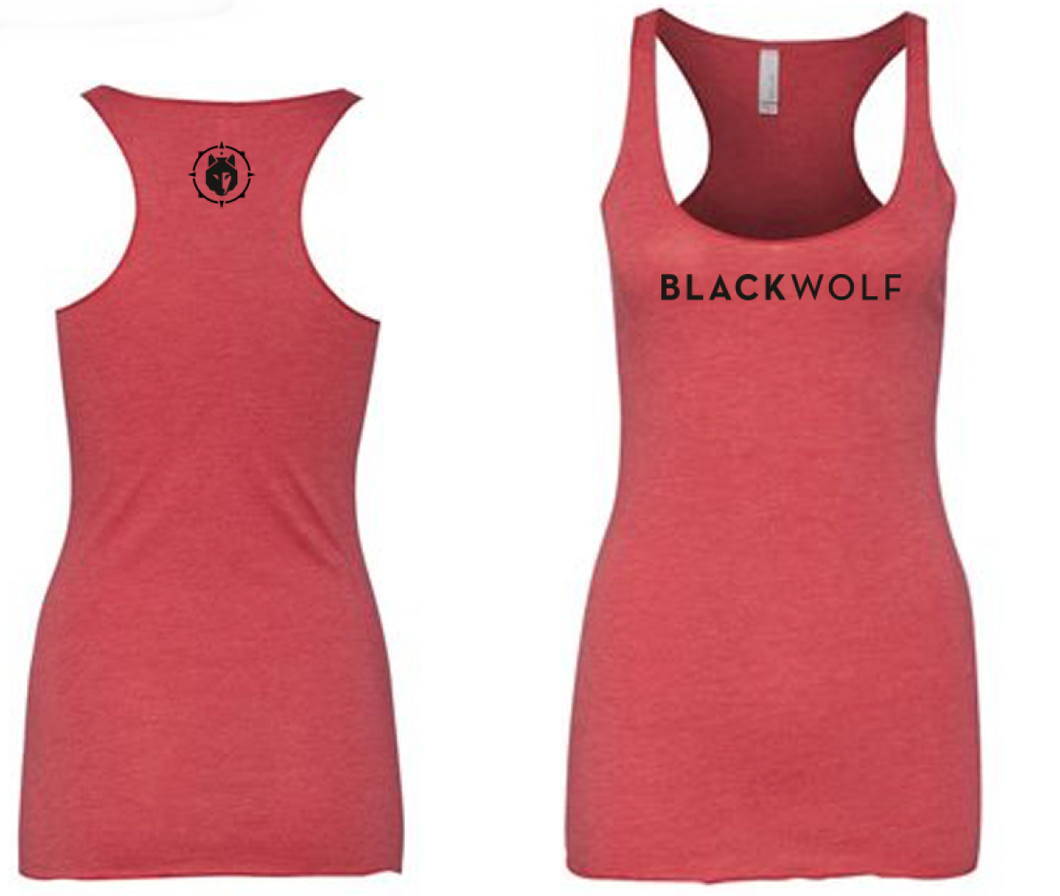 BlackWolf Women's Triblend Racerbank Tank