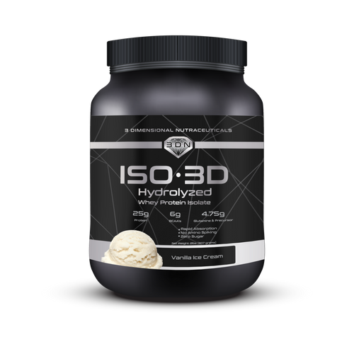 3DN ISO-3D HYDROLYZED WHEY PROTEIN ISOLATE