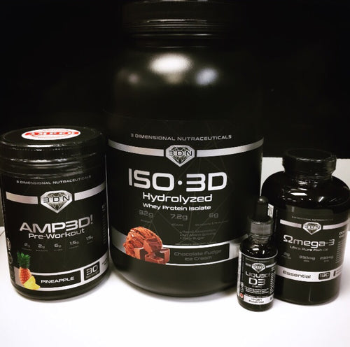 3DN ESSENTIAL GYM STACK!