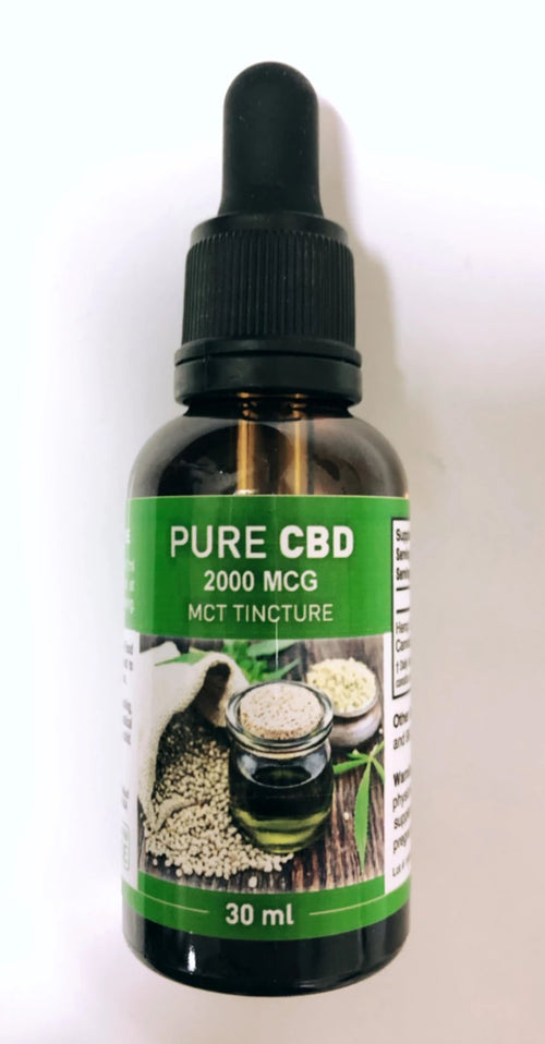 PURE CBD 2000MG