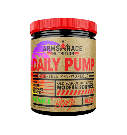 ARMS RACE NUTRITION DAILY PUMP!