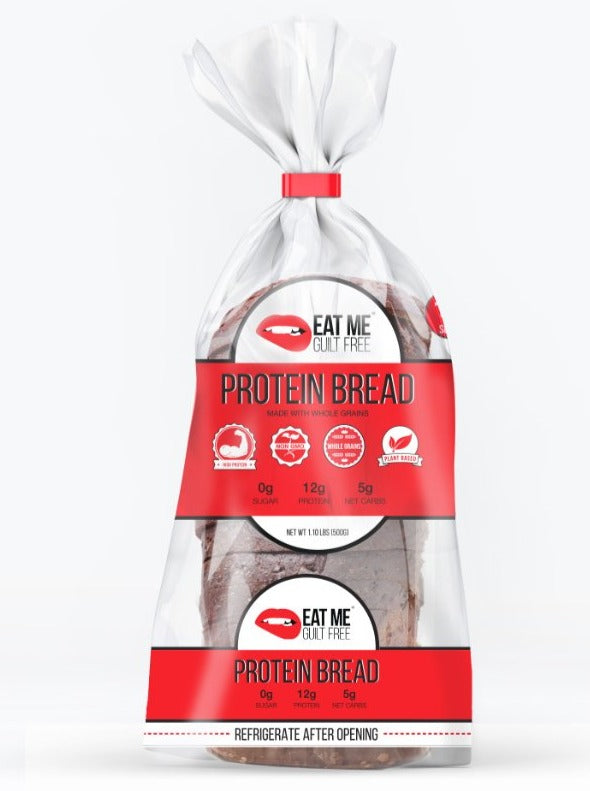 EAT ME GUILT FREE PROTEIN BREAD!
