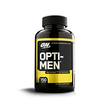 OPTIMUM NUTRITION OPTI-MEN 150ct