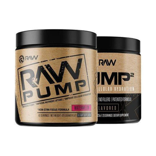 RAW NUTRITION PUMP STACK!