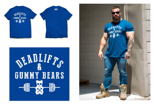 AAR DEADLIFTS & GUMMY BEARS TEE