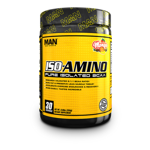 MAN SPORTS ISO-AMINO + FREE SHAKER & FUNNEL!