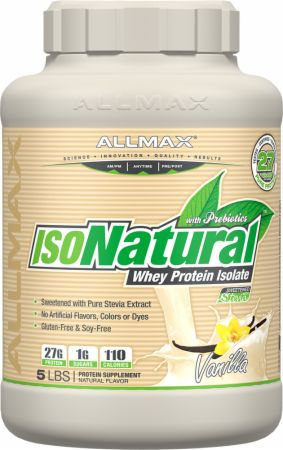 ALLMAX NUTRITION ISO-NATURAL